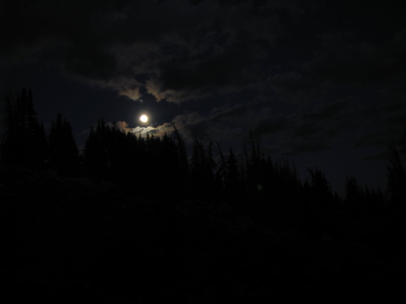 Full Moon on the Mountain