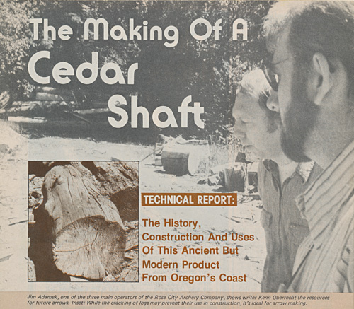 The_Making_Of_A_Cedar_Shaft