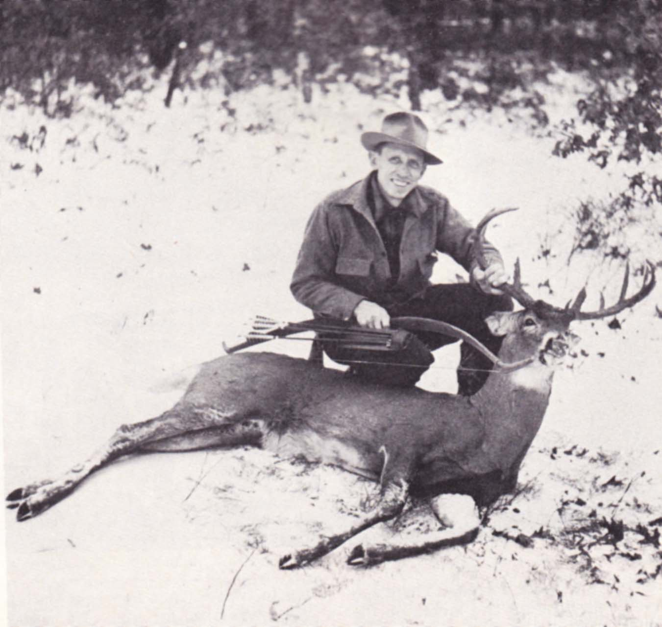Archerytalk Articles Amp Blogs 187 Whitetail Tactics By Fred Bear