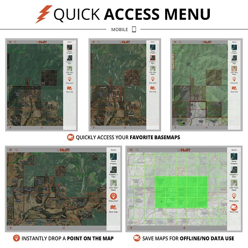 onXmaps HUNT - So easy to use!